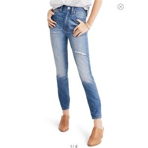 🌵Madewell Rigid High Waist Skinny Jeans